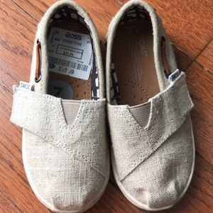 Authentic Toms toddler shoes